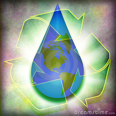 Recycle earth water