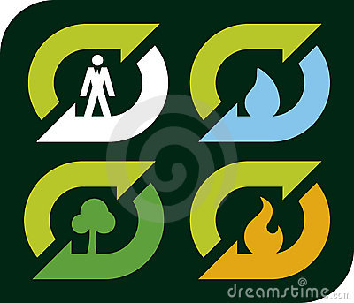 Recycle elements (vector)