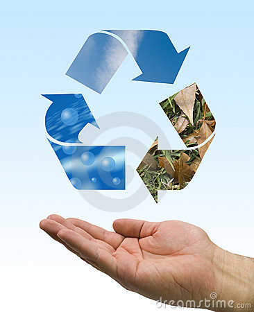 Recycle hand
