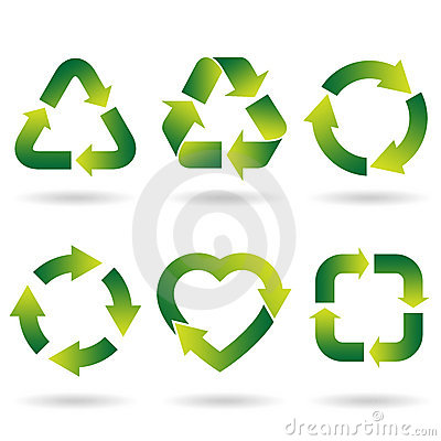 Free Recycle Icons Stock Image - 19005721