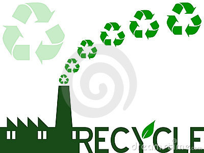 Recycle Industry Vector Illustration