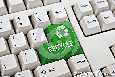 Recycle keyboard