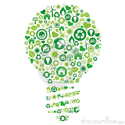 Recycle Light Bulb Stock Images - Image: 17003404:recycle light bulb,Lighting