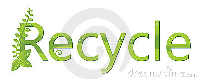 Recycle logo (Protect the environment )