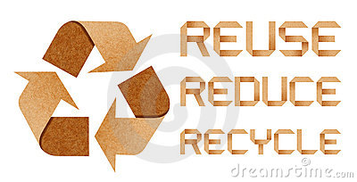 Recycle Logo with Recycle concept