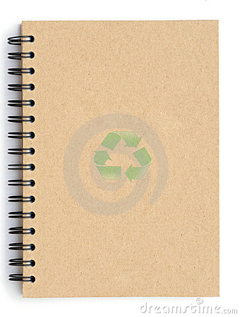 Free Recycle Notebook Royalty Free Stock Photography - 16318567