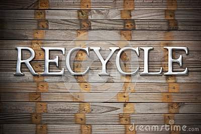 Recycle Recycling Wood Background
