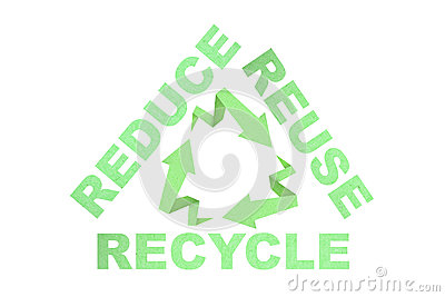 Recycle reduce reuse sign