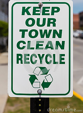 Free Recycle Sign Stock Image - 40928881