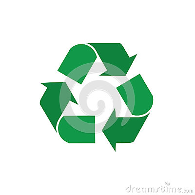 Free Recycle Symbol Green Arrows Logo Web Icon Royalty Free Stock Photo - 95362045