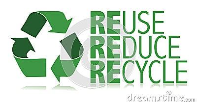 Recycle / vector