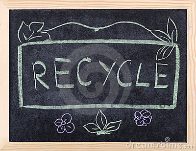 Recycle word
