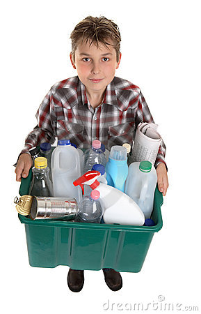 Free Recycle Your Trash Stock Photography - 3031362
