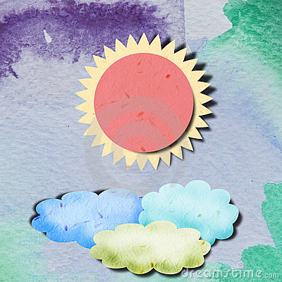Free Recycled Paper Art Stock Photography - 21359872