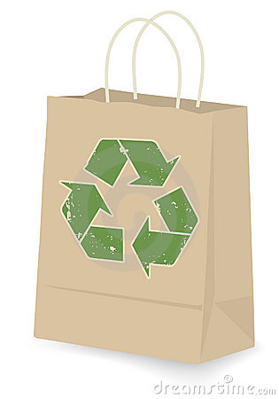 Free Recycled Shopping Bag Stock Photo - 3990680