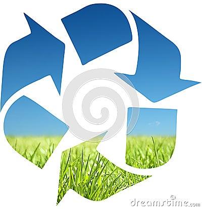 Recycleer symbool