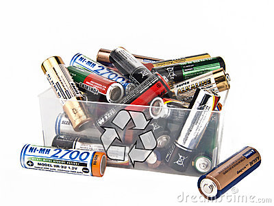 Recycling of battery