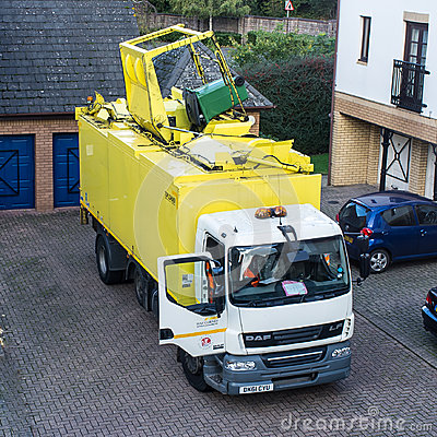 Recycling Collection Editorial Photography