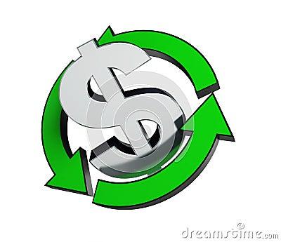 Recycling dollar