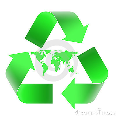 Recycling emblem