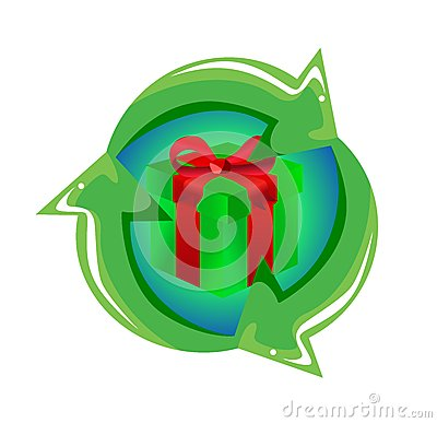 Recycling Gift Concept