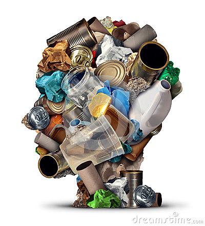 Free Recycling Ideas Royalty Free Stock Photos - 58025068