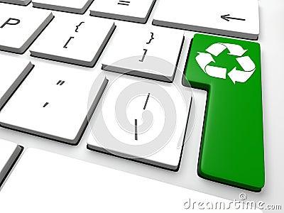Recycling key