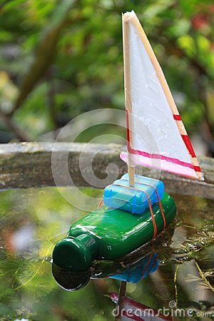 Free Recycling Kids Toy Royalty Free Stock Photography - 102066847