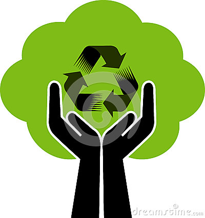 Recycling Logo Stock Photo - Image: 5199130