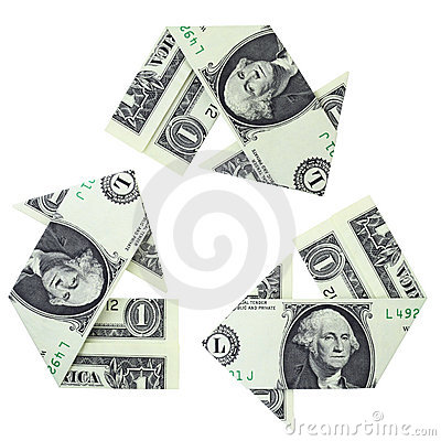 Free Recycling Money Stock Image - 10876601
