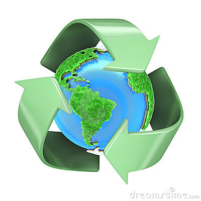 Free Recycling Planet Earth Stock Photography - 10233512