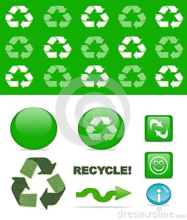 Recycling set