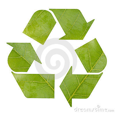 Free Recycling Symbol Royalty Free Stock Image - 15869336