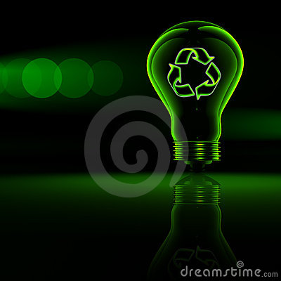 Free Recycling Symbol Royalty Free Stock Images - 18967599