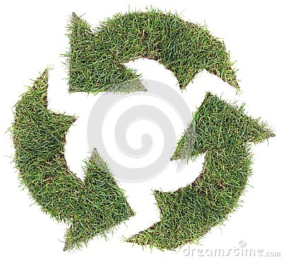 Recycling Symbol Cut Out