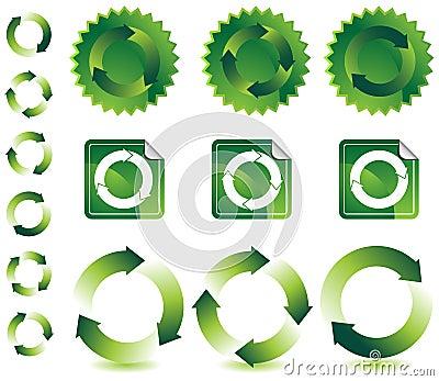 Recyling Design Elements