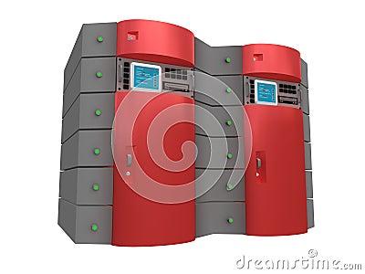 Red 3d server