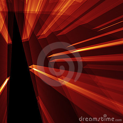 Red abstarct shine background