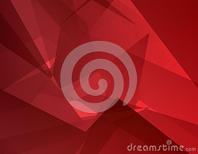 Red abstract background (vector). Modern concept.