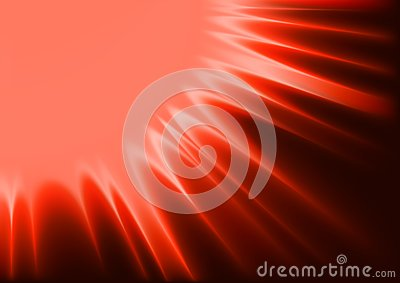 Red Abstract Sunshine