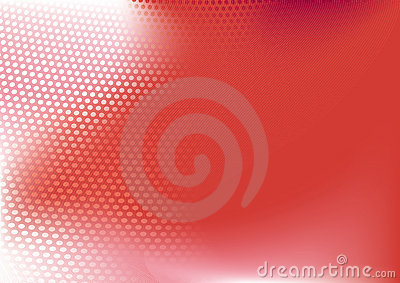 Red  abstract techno background