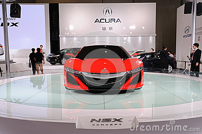 Acura  Price on Red Acura Nsx Concept   Road To Chinas West   15th Chengdu Motor Show