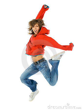 Free Red Air Dance Royalty Free Stock Images - 4793139