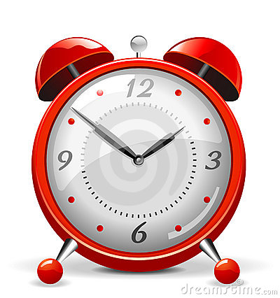 Free Red Alarm Clock Stock Photo - 9267300