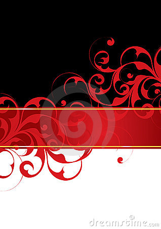 Free Red And Black Background Stock Images - 6852844