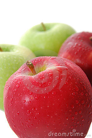 Free Red And Green Apples Stock Photo - 11320080