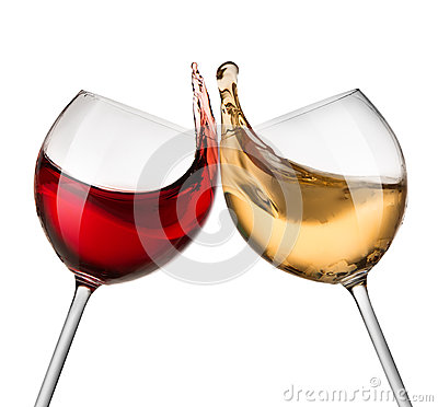 Free Red And White Wine Waves Stock Photos - 38244573