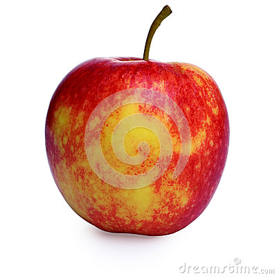 Free Red And Yellow Apple Stock Photo - 27131170