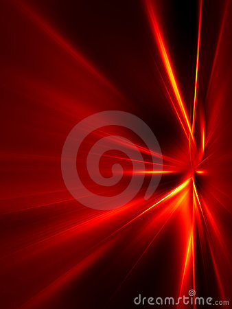 Free Red And Yellow Rays On Black Background Royalty Free Stock Photo - 18515725