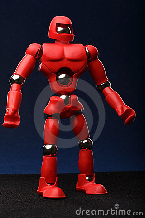 Red android